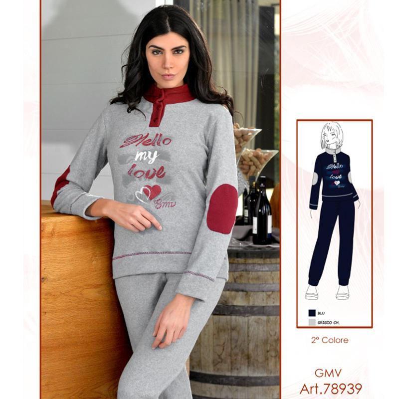 Pile Pigiameria Biancheria Abbigliamento Pigiama Donna Ingrosso Sqp5w6xR1Z