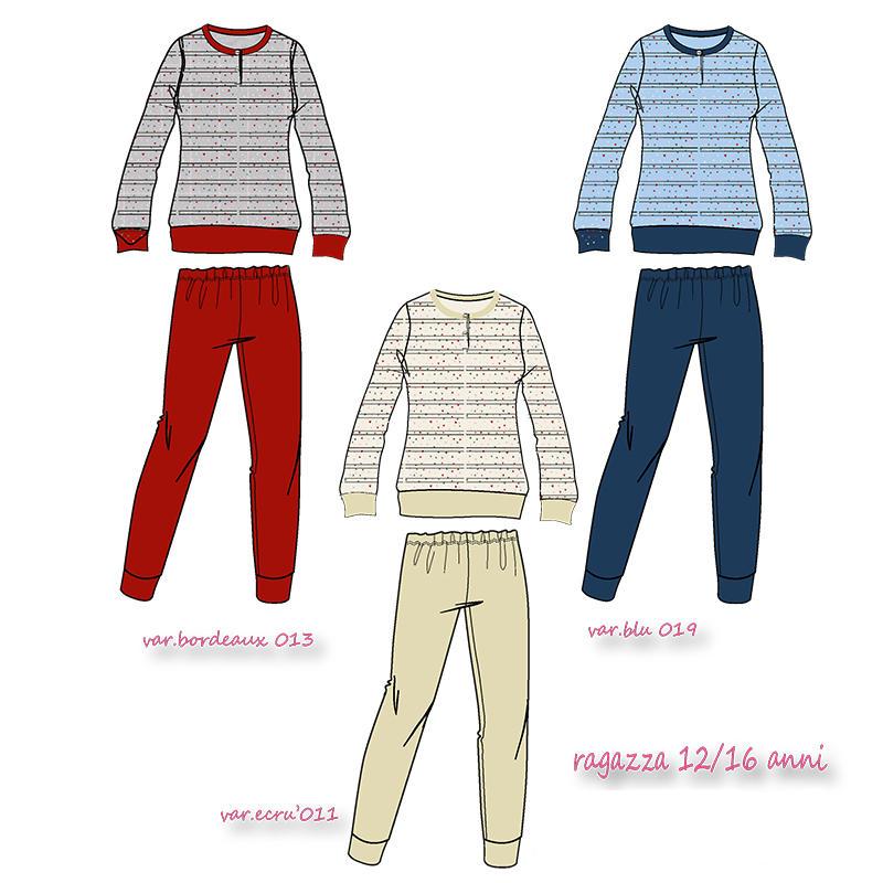 01a3d07180e9 PIGIAMA DONNETTA PUNTO MILANO - Catalogo Ingrosso Abbigliamento e ...